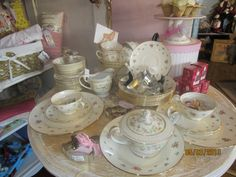 Vintage China is a beauty!