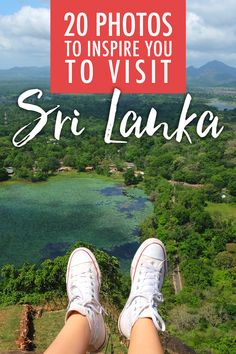 I was blown away by the stunning landscapes of the Sri Lankan countrysides. There's definitely no shortage of natural beauty between the tropical, green mountains, overgrown forests, sparkling coastlines and lush rivers!