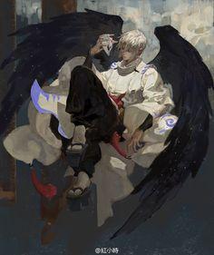 Page 2 Read Cẩu Cáo from the story [onmyoji] fan art by chotaxoacumi (cutataxoacumimixoa) with reads. Fantasy Character Design, Character Drawing, Character Design Inspiration, Character Concept, Concept Art, Anime Fantasy, Fantasy Art, Manga Anime, Anime Art