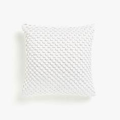 Cushion cover with a raised geometric design - CUSHIONS - BEDROOM | Zara Home Canada