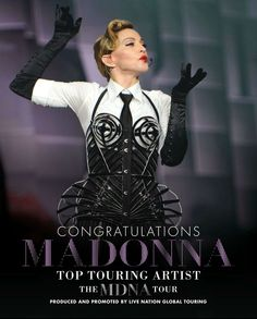 Madonna at 2013 billboardmusicawards mdnatour mdna tour billboard magazine congratulates madonna on her top touring artist award for the mdna tour voltagebd Image collections
