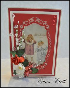 Gunn-Eirill`s Paper Magic: Christmas shaker card/ DT Wild Orchid Crafts