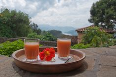 Wake up to some fresh fruit juices to restore your vim and vigour before embarking on a day of activities together, including tracking the Mountain Gorillas and a host of other excitement as well!