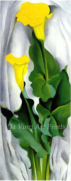 georgia o keeffe paintings green | il_570xN.270681365.jpg