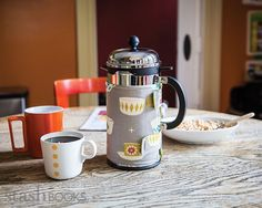 Love this French Press Cozy!