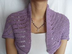 Free Shrug Knitting Patterns | FREE CROCHETED BOLERO PATTERN - Crochet — Learn How to Crochet