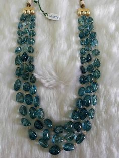 Best Ideas For Diy Jewelry Necklace Chain Collars Diy Jewelry Necklace, Bead Jewellery, Necklace Designs, Beaded Jewelry, Jewelery, Strand Necklace, Necklace Set, Emerald Jewelry, Gemstone Jewelry