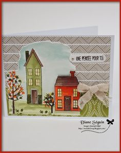 Holiday home by stampin'Up!