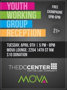 Save the Date!  The Youth Working Group will have a meeting in April!
