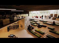 Seinäjoki Library interior