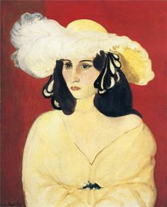 The White Feather - Henri Matisse -