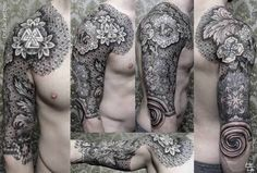 Image result for geometric tattoos patterns