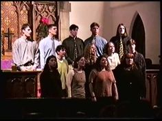 """My collegiate a cappella group, The Pennharmonics, singing """"Wanting Memories"""" by Sweet Honey In the Rock. I'm in the second row, far left."""