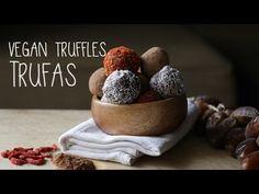 RECEITA Trufas Vegan   Vegan Truffles recipe
