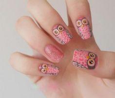 More owls! #nails