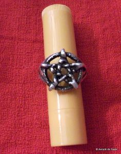 Sterling Silver Pentacle Ring size 9 1/2 by AeryckdeSade on Etsy, $25.00