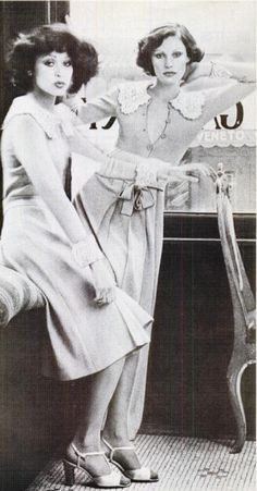 Fashion in Texas Monthly,1975.