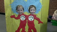 Dr. Seuss Photo cut out
