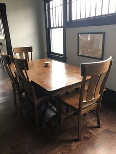 Farmhouse Style Wooden Dining Set For Sale In Nashville TN