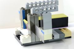 Lego Cane Slicer by Cat Szetu  Very clever.
