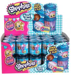 Shopkins Seaseon 4 Food Fair Blind Baskets / Cans What he had me pick up for him with his gpa money.
