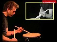 Dave Weckl Drum Clinic: Double Stroke Roll & One Handed Roll - YouTube