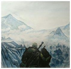 Geralt and Yennefer by Snowf0xxx.deviantart.com on @DeviantArt