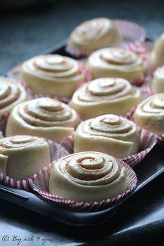 Bread Dough Recipe, Beignets, Cinnamon Rolls, Bakery, Treats, Cooking, Breakfast, Recipes, Hygge