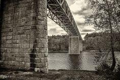 The Milford Bridge, Pike County PA