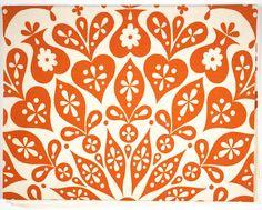 Alexander Girard, Cutout Tablecloth,  1961