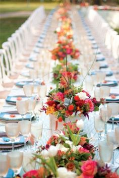 Spring Wedding Table Decorations - spring wedding table decoration ideaswedwebtalks wedwebtalks - http://teeshouse.net