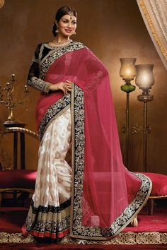 Ayesha Takia Designer Party Wear Saree with blouse