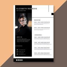 Modern Cv Template, Cv Resume Template, Resume Design Template, Creative Resume Templates, Business Templates, Curriculum Vitae Template Free, Cv Curriculum Vitae, Resume Layout, Resume Cv
