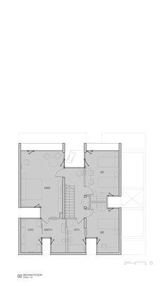 Casa La Cañada,Second Floor Plan