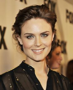 Emily Deschanel. The prettiest of them all.