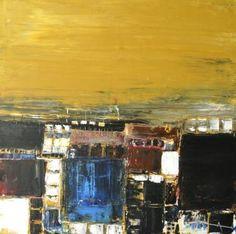 """""""Invitation au voyage VIII"""" abstract art"""