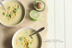 sopa de maiz {mexican corn soup}