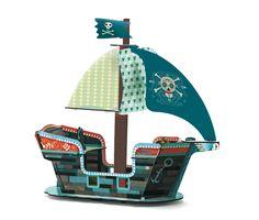 TIP! Piraten boot als Sinterklaascadeau van Kidsdinge | Via kinderkamerstylist.nl blog