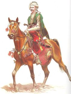 Ottoman light cavalryman.jpg (740×982)