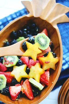 Try This: Lemon Ginger Fruit Salad | A Beautiful Mess | Bloglovin'