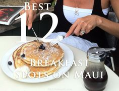 Breakfast is the most important meal of the day! #Maui