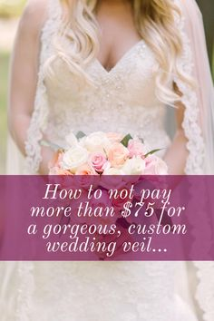 Gorgeous wedding veils that are actually affordable Wedding