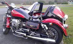 Side car moto guzzi1100 california 1996