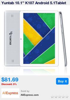 Yuntab 10.1'' K107 Android 5.1Tablet 1GB+16GB Quad-Core Phablet Sliver Color Unlocked Dual Sim Card Slots Bluetooth GPS Hot * Pub Date: 11:57 May 10 2017