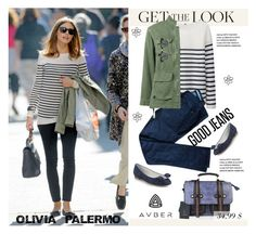 """Get The Look - Olivia Palermo"" by svijetlana ❤ liked on Polyvore featuring Uniqlo, Zadig & Voltaire, Nili Lotan, Salvatore Ferragamo, Ray-Ban, vintage, GetTheLook, OliviaPalermo, polyvoreeditorial and avber"