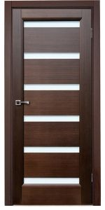 Tokio Wenge Interior Door with Glass