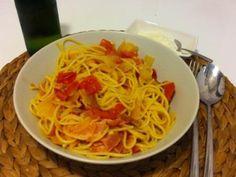 Aprende lo fácil que es preparar un plato de pasta italiana original, Spaghetti all'amatriciana. Rica, sabrosa y muy fácil. Te traemos la receta.