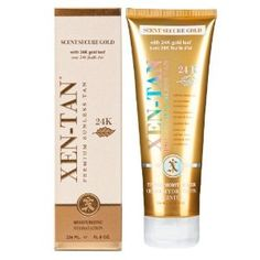 Xen-Tan Scent Secure Gold Sunless Tanning Lotion http://www.amazon.com/gp/product/B00CUA1Y12