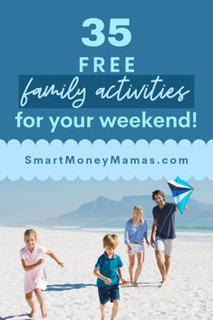 Budget friendly family activities to do this weekend with your kids. Saving money and living frugally doesn't mean you can't do things! Check out our list of fun ideas. Parenting Ideas, Family Fun Ideas, Activities for Kids, Frugal Living Ideas #frugal #freefun #familyideas #cheapfamilyfun #freefamilyfun
