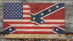Pallet American Flag Wall Art | 99 Pallets